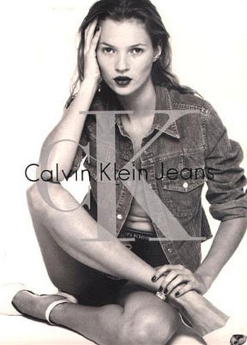 Ikony modelingu w kampaniach Calvina Kleina