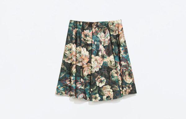 Powitaj wiosnę w spódnicy - przegląd propozycji z Zary