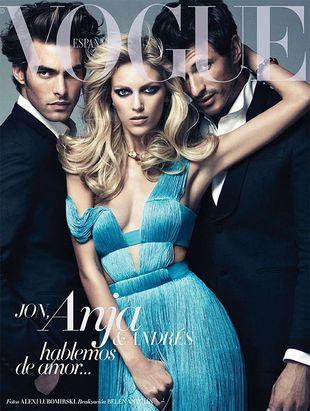 Anja Rubik ponownie na okładce Vogue Espana