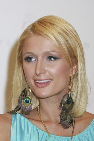 Kolczyki w stylu Paris Hilton