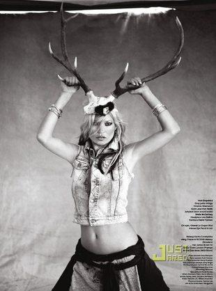 Kate Moss w cygańskim świecie