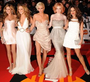 Wystrojone Girls Aloud