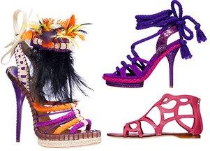 Bajecznie kolorowe buty od Diora (FOTO)