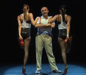 Christian Louboutin uczy się tańczyć