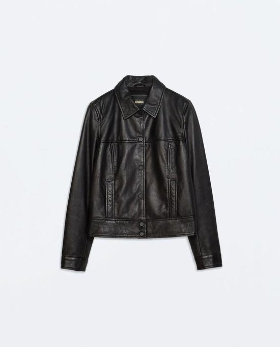 Skóra, kaszmir i jedwab w minikolekcji Zara Premium (FOTO)