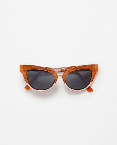 Zara Tangerine Touch - Kolorystyczne przełamania na jesień