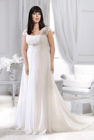 Agnes - suknie ślubne dla puszystych - kolekcja 2015
