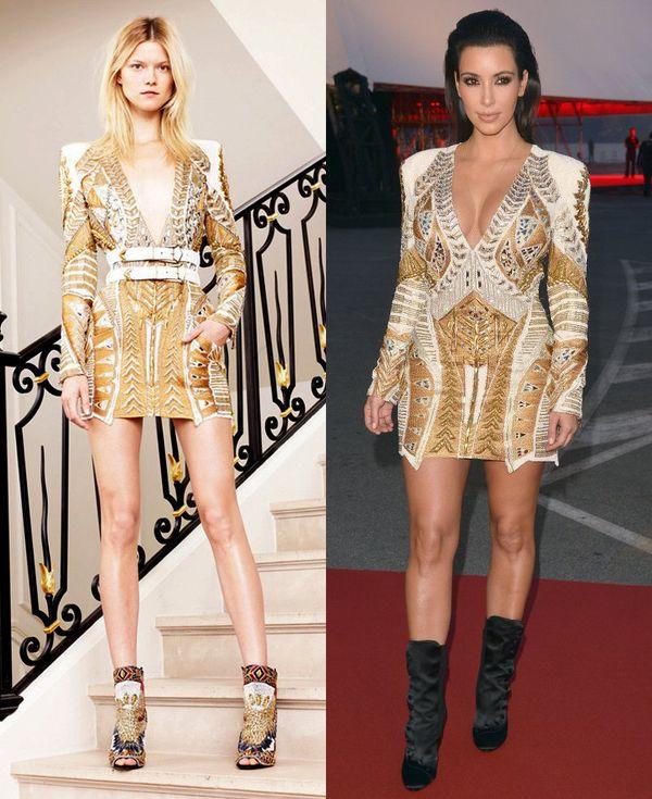 Stylizacje Kim Kardashian – wybieg kontra rzeczywistość