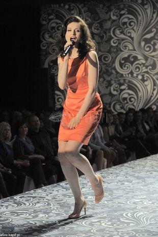Sophie Ellis - Bextor na pokazie Orsay