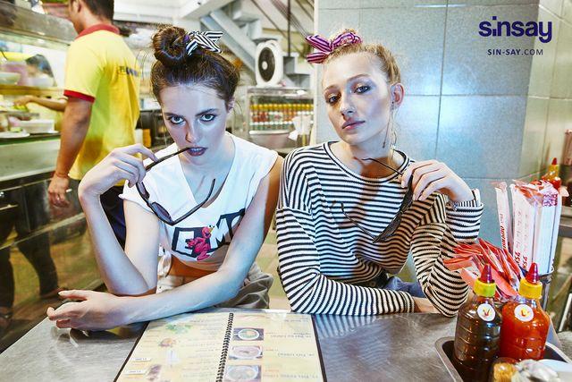 Energetyczny lookbook młodzieżowej marki Sinsay - Sugar Rush