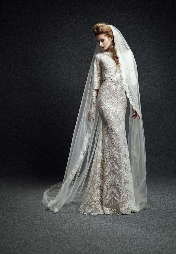 Królewskie suknie ślubne Ersa Atelier - jesień 2015 (FOTO)