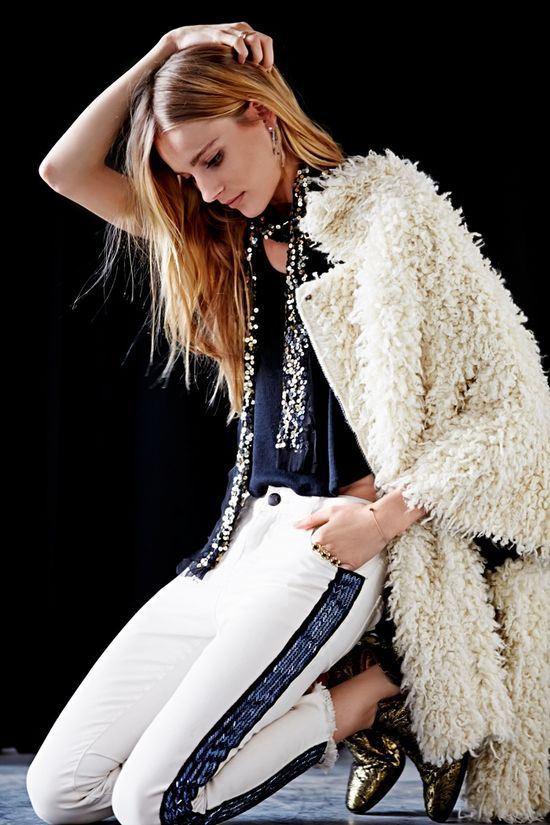 Ieva Laguna w lookbooku Free People listopad 2013
