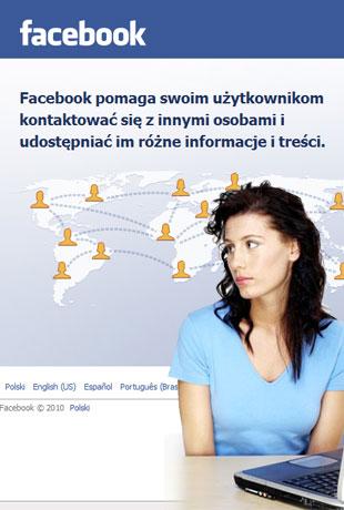 Za brzydka na Facebooka?