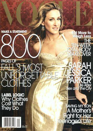 Sarah Jessica Parker i Chris Noth dla Vogue
