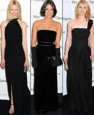 Trzy gwiazdy w czerni od YSL (FOTO)