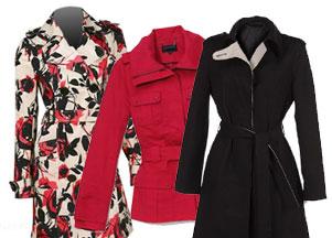 Wiosenne płaszcze i płaszczyki
