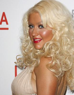 Christina Aguilera w sukni Versace