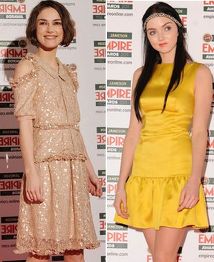 Keira Knightley vs Lily Cole (FOTO)