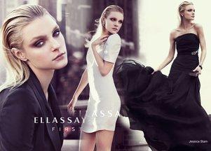 Jessica Stam w wyjątkowej kampanii marki Ellassay (FOTO)