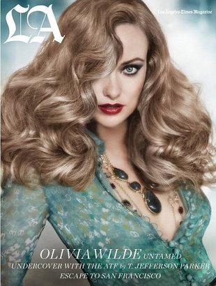 Olivia Wilde z burzą blond włosów