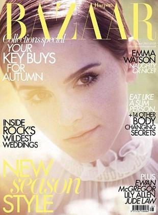 Emma Watson na dwóch okładkach magazynu Harper's Bazaa