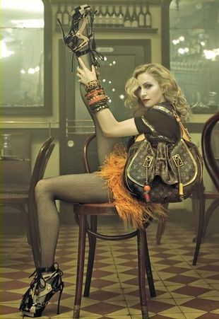 Madonna dla Louis Vuitton