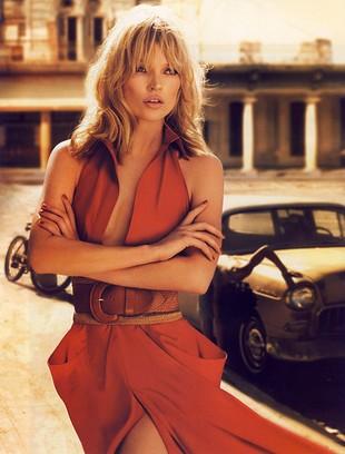 Kate Moss twarzą Donny Karan