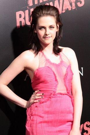 Kristen Stewart w małej różowej