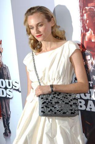 Diane Kruger z kultową torebką