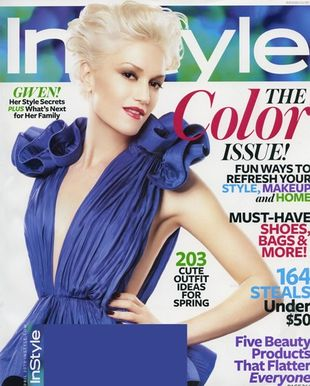 Gwen Stefani na okładce In Style