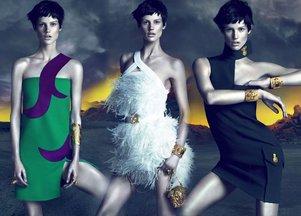 Jesienna kolekcja Versace (FOTO)