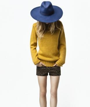 Zara TRF - lookbook na wrzesień