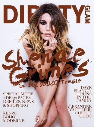 Shenae Grimes dla magazynu Dirrty Glam