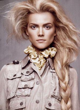 Kasia Struss w amerykańskim Vogue'u