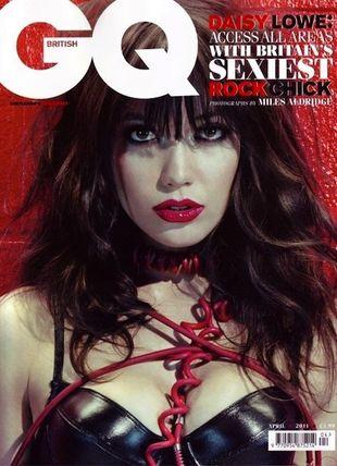 Daisy Lowe w magazynie GQ