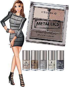 Essence Metallics - zimowa kolekcja marki