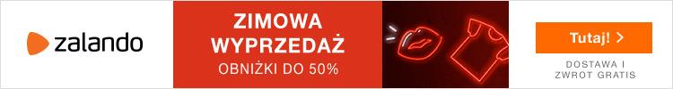 Zimowa Wyprzedaż, obniżki nawet do -50%! Tylko na Zalando.pl!!