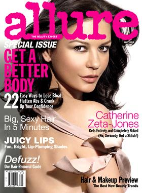 Catherine Zeta-Jones na okładce Allure
