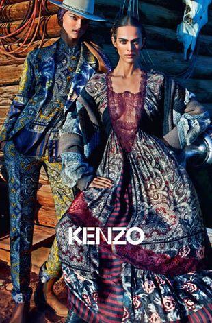 Kasia Struss w bajecznie kolorowej kampanii Kenzo (FOTO)