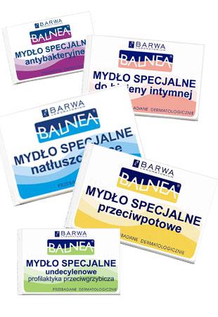Balnea - mydła specjalistyczne od Barwy