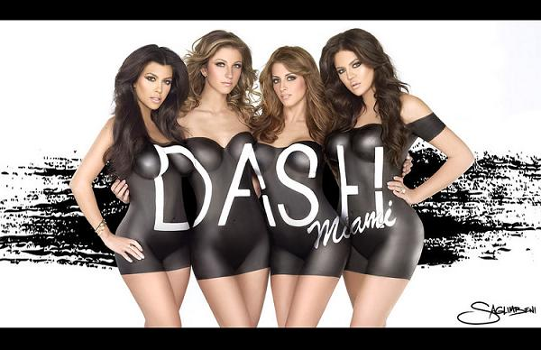 Siostry Kardashian nago w reklamie butiku Dash