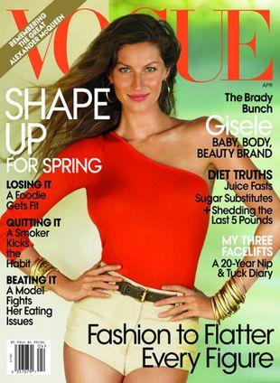 Gisele Bundchen na okładce Vogue