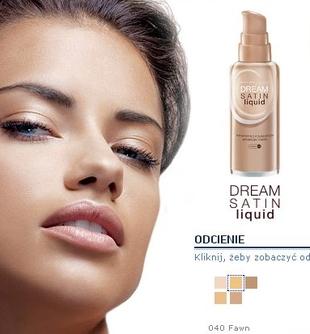 Dream Satin Liqiud - podkład od Maybelline