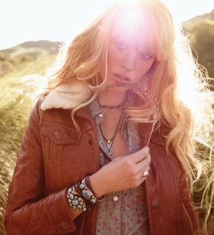 Anne Vyalitsyna w kampanii True Religion (FOTO+VIDEO)
