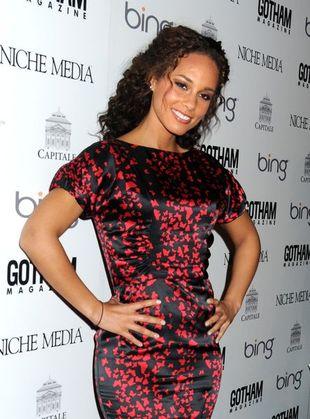 Alicia Keys stawia na dziewczęcy wzór