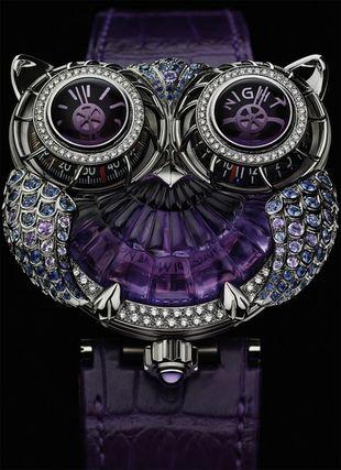 Zegarek-Sowa od Boucheron (FOTO)