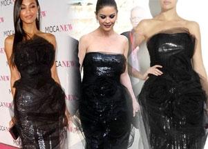 Walka na sukienki: Saldana czy Zeta-Jones?