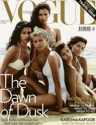 Vogue India promuje ciemniejszą karnację