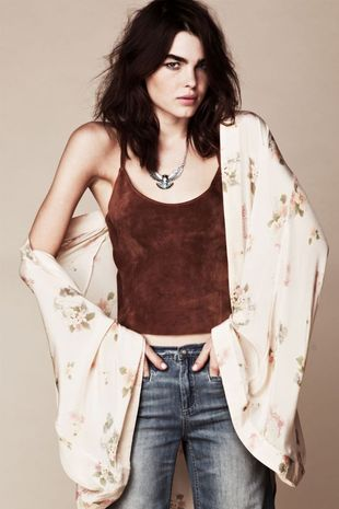 Bambi Northwood-Blyth w lookbooku Free People (FOTO)