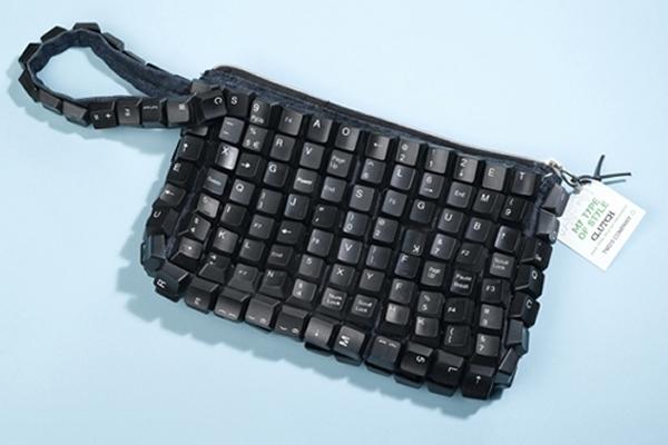 Mała torebeczka z... klawiatury komputerowej
